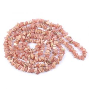 Rodocrosite Chip Mala/Necklace