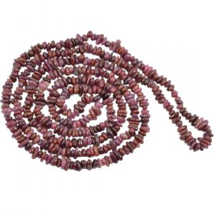 Ruby Chip Mala / Necklace
