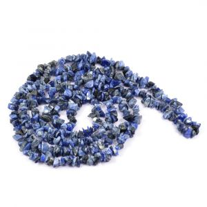 Sodalite Chip Mala/Necklace