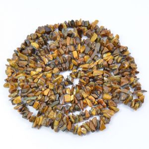 Tiger Eye Chip Mala / Necklace