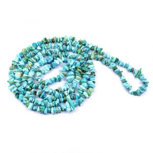 Torquise Chip Mala/Necklace