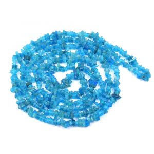 Apatite Neon Chip Mala / Necklace