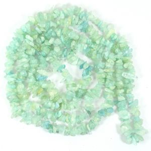 Aquamarine Chip Mala / Necklace