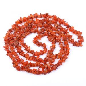 Carnelian Chip Mala / Necklace