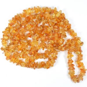 Citrine Chip Mala / Necklace