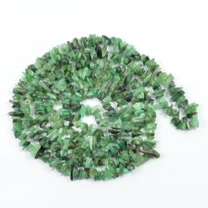 Emerald Chip Mala / Necklace