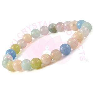Margonite 8 mm Round Bead Bracelet