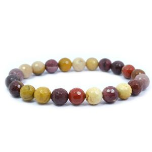 Mukite Jasper 8 mm Faceted Bracelet