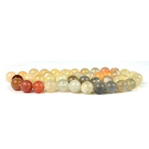 Multi-Moonstone Loose Beads Crystal Beads 6 mm Beads Round Stone Beads