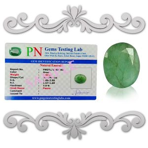 Natural Panna Emerald Certified Gemstone