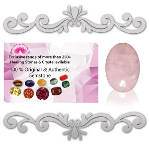 Natural Rose Quartz Gemstone 5.25 to 13.25 Ratti