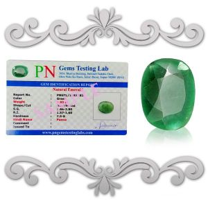 Natural High Grade Panna Emerald Certified Gemstone