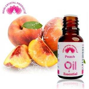 Reiki Crystal Products Peach Essential Oil - 15 ml, Aroma Therapy