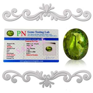 Natural High Grade Peridot  Carat Peridot Certified Gemstone