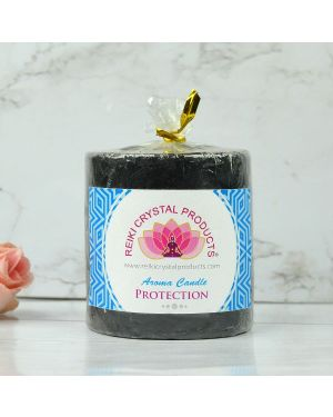 Energized Pillar Candle for Protection Purpose