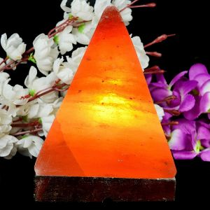 Salt Lamp Pyramid Shape