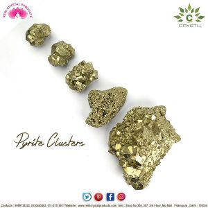 Natural Pyrite Raw/Rough Cluster/Peru Pyrite