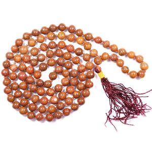 Red Jasper 6 mm Round Beads Mala & Necklace ( 108 Beads, 26 Inch  Approx)