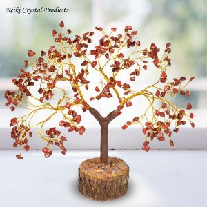 Red Jasper Natural Chips 300 Beads Tree