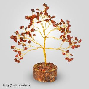 Red Jasper Natural Chips 100 Beads Tree