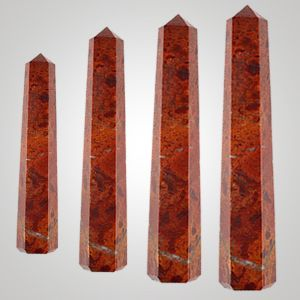 Red Jasper Crystal Pencil / Obelisks
