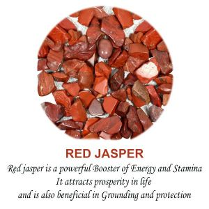Red Jasper Crystal / Stone Chips