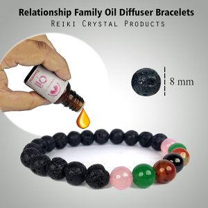 Relationship Family Essential Oil - 15 ml with Aroma Therapy Bracelet
