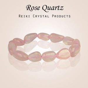 Rose Quartz Tumble Bracelet