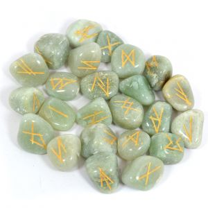 Green Jade Rune Set 25 Pc