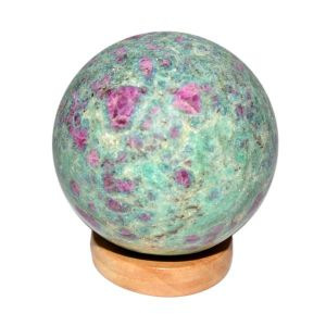 Ruby Fuchsite Ball / Sphere