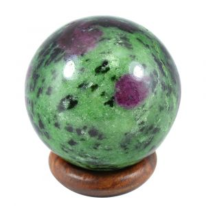 Ruby Zeosite Natural Ball / Sphere