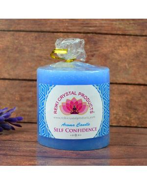 Energized Pillar Candle  for Self Confidence Purpose