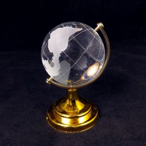 Vastu / Feng Shui Crystal Glass Globe 40 mm Combo