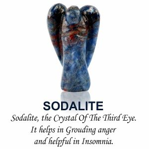 Sodalite Angel
