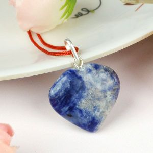 Sodalite Heart Shape Pendant - Size 25-30 mm approx