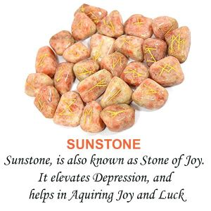 Sunstone Rune Set 25 Pc