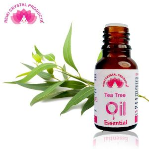 Reiki Crystal Products Tea Tree Essential Oil - 15 ml, Aroma Therapy