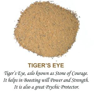 Tiger Eye Crystal / Stone Dust / Chura