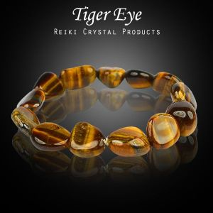Tiger Eye Tumble Bracelet
