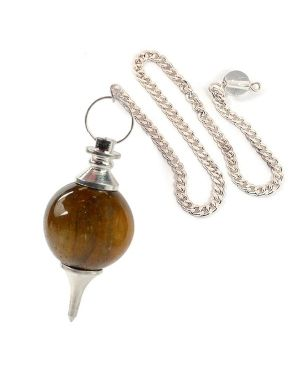Tiger Eye Ball Dowser / Pendulum