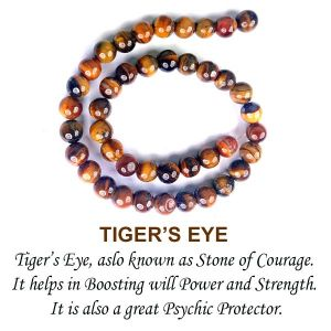 Tiger's Eye  Loose Beads Crystal Beads 10 mm Beads Stone Beads