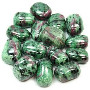 Ruby Zeosite Tumble Stone Kit 100 Grams