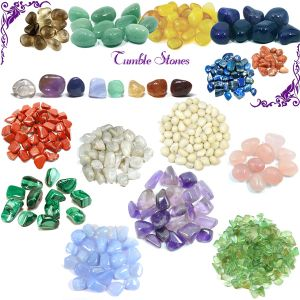Reiki Crystal Products Natural Single Crystal Tumble Stones Pack of 1 pc