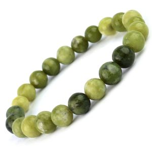 Vesonite 8 mm Round Bead Bracelet