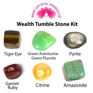 Wealth Tumble Stone Kit