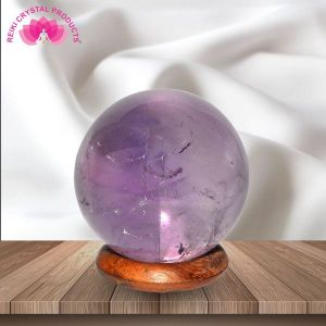 Ametrine Ball / Sphere for Reiki Healing / Grid and Vastu Correction