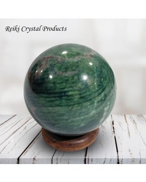 Bloodstone Ball / Sphere for Reiki Healing / Grid and Vastu Correction