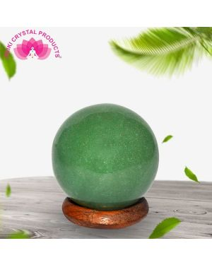 Green Aventurine Ball / Sphere for Reiki Healing / Grid and Vastu Correction