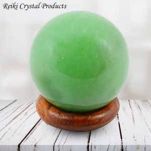 Green Jade Ball / Sphere for Reiki Healing / Grid and Vastu Correction