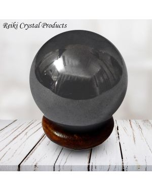 Hematite Ball / Sphere for Reiki Healing / Grid and Vastu Correction